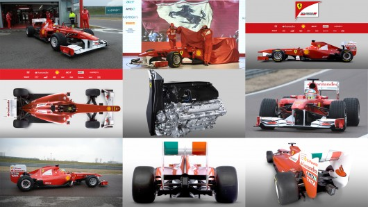 people witnessed the live presentation of the Ferrari F150 2011 F1 car