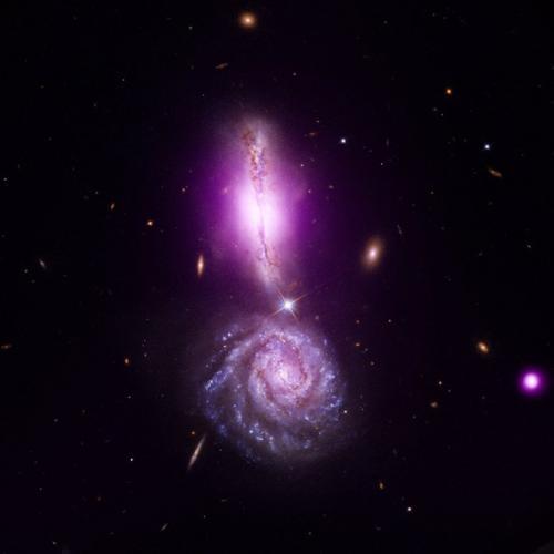 Un point d'exclamation cosmique Acosmicexcla